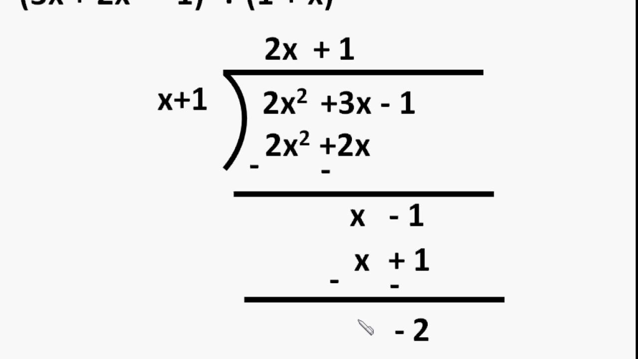 Maths - Polynomial Division - Polynomial - Part 5 - English