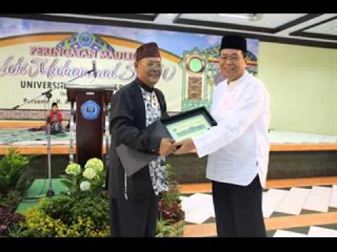 Asep Sunandar S. Ceramah di Unla - Bandung 2014