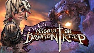 Borderlands 2: Tiny Tina's Assault on Dragon Keep - Game Movie (Storyline Playthrough) 1080p HD