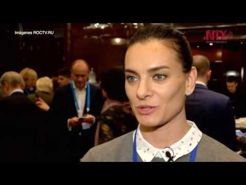 Rusa Yelena Isinbayeva encabezará sorteo de Copa Confederaciones