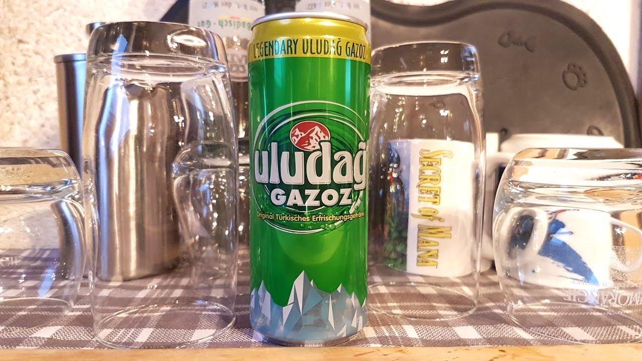 Uludağ Gazoz (türkisches Getränk) ¦¦¦ EMPFEHLUNG - YouTube