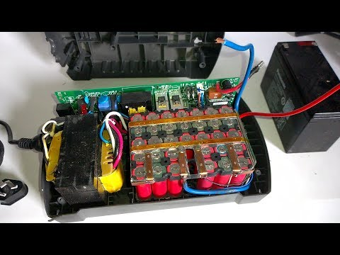 DIY 12V 18650 Li-ion Battery Replacement For APC Back-UPS 650