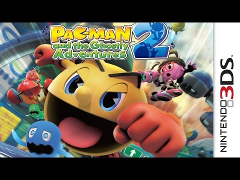 Pac Man And The Ghostly Adventures 2 Gameplay {Nintendo 3DS} {60 FPS} {1080p}