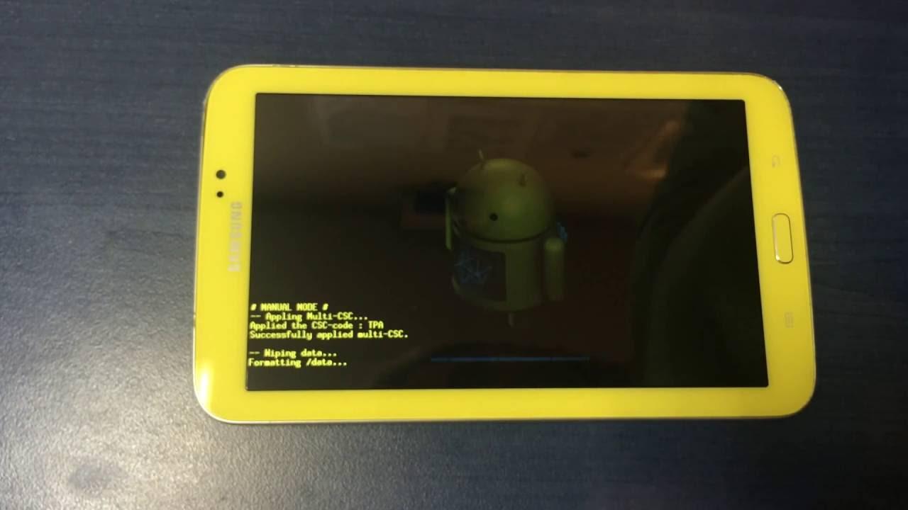 Hard Reset Factory Reset Samsung Galaxy Tab 3 Kids Sm T2105
