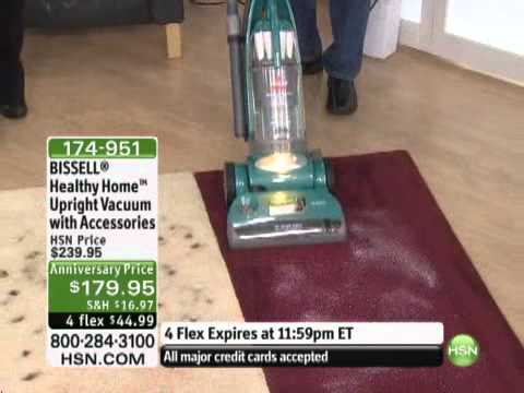 BISSELL Healthy Home Upright Vacuum with Accessories