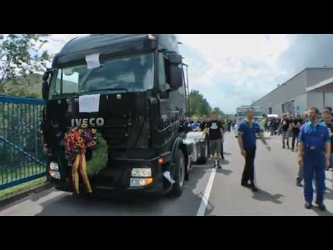 iveco aus f r lkw produktion in ulm youtube. Black Bedroom Furniture Sets. Home Design Ideas