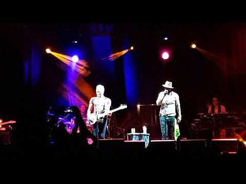 Sting&Shaggy,  Cattolica, Italy, 2018, Waiting For The Break Of Day