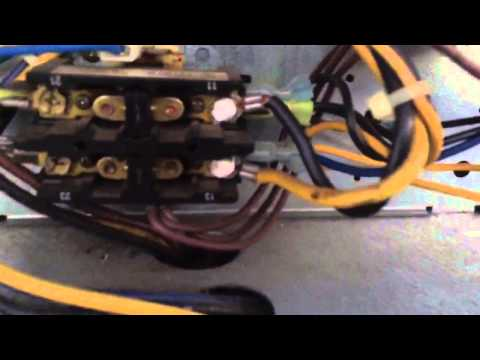 Hvac: 3 Phase Motor Wrong Rotation And Compressor Terminal Blow Out.