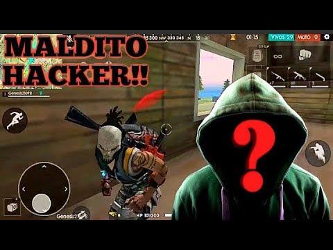 Me Mata Hacker Invisible En Free Fire!! ⚠️