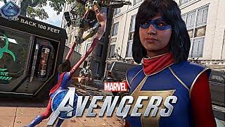 Marvel's Avengers Game - NEW Ms. Marvel Gameplay!