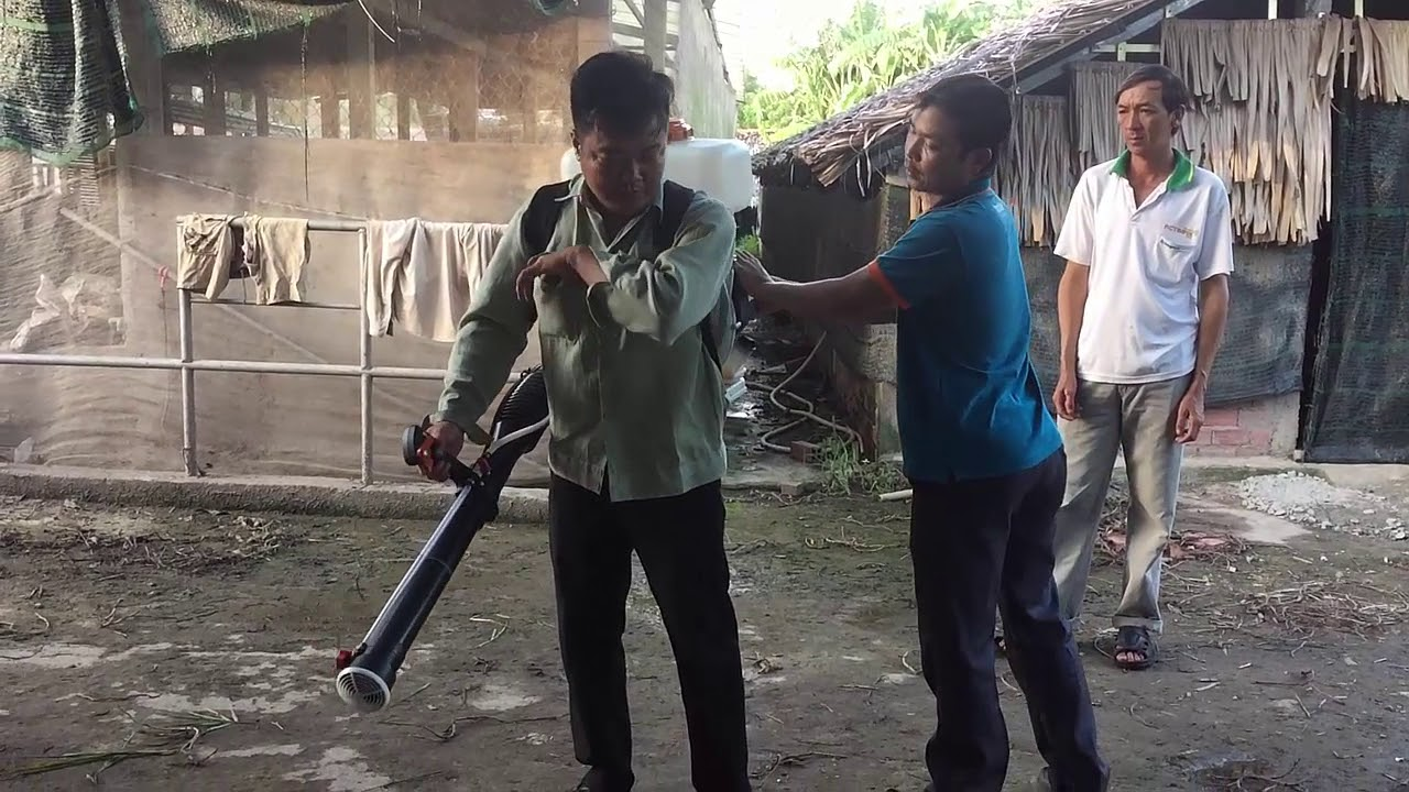 Dịch vụ diệt côn trùng tại Cần Thơ | Máy phun diệt côn trùng STIHL SR 420