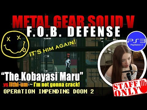 MGSV FOB | vs Lithi-um - The Kobayashi Maru (I'm not gonna crack!)