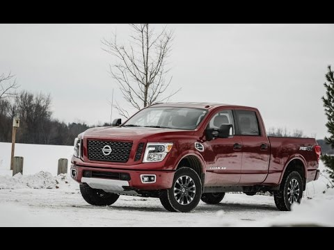 nissan titan xd diesel 2017 car review youtube. Black Bedroom Furniture Sets. Home Design Ideas