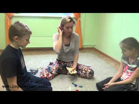 Занятие нейропсихолога с ребенком 9 лет Логоцентр УЛЫБКА 14.10.14г