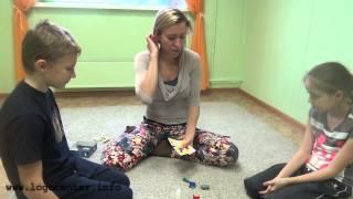 Занятие нейропсихолога с ребенком 9 лет
