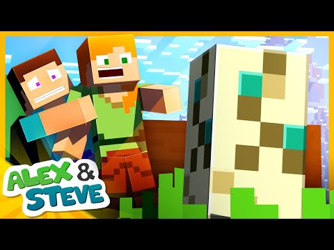 🐢 THE EGG FINALLY HATCHED! Minecraft Animation | The Minecraft Life Of Alex And Steve