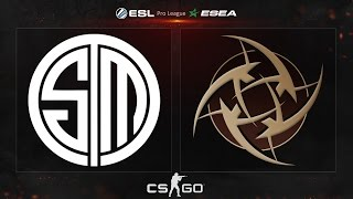 CS:GO - TSM vs. NiP [Mirage] - ESL ESEA Pro League Dubai Invitational - Semifinal Map 2
