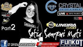 DJ SETIA SAMPAI MATI    DJ LINDRA MOCCI    BASAH POCOK BAWAH    CRYTAL LIVE SP 3