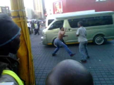 Jozi street fight