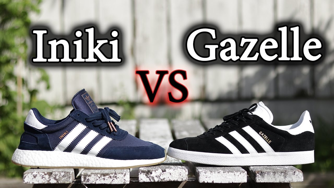 Adidas Iniki Vs Gazelle | What's the Difference?