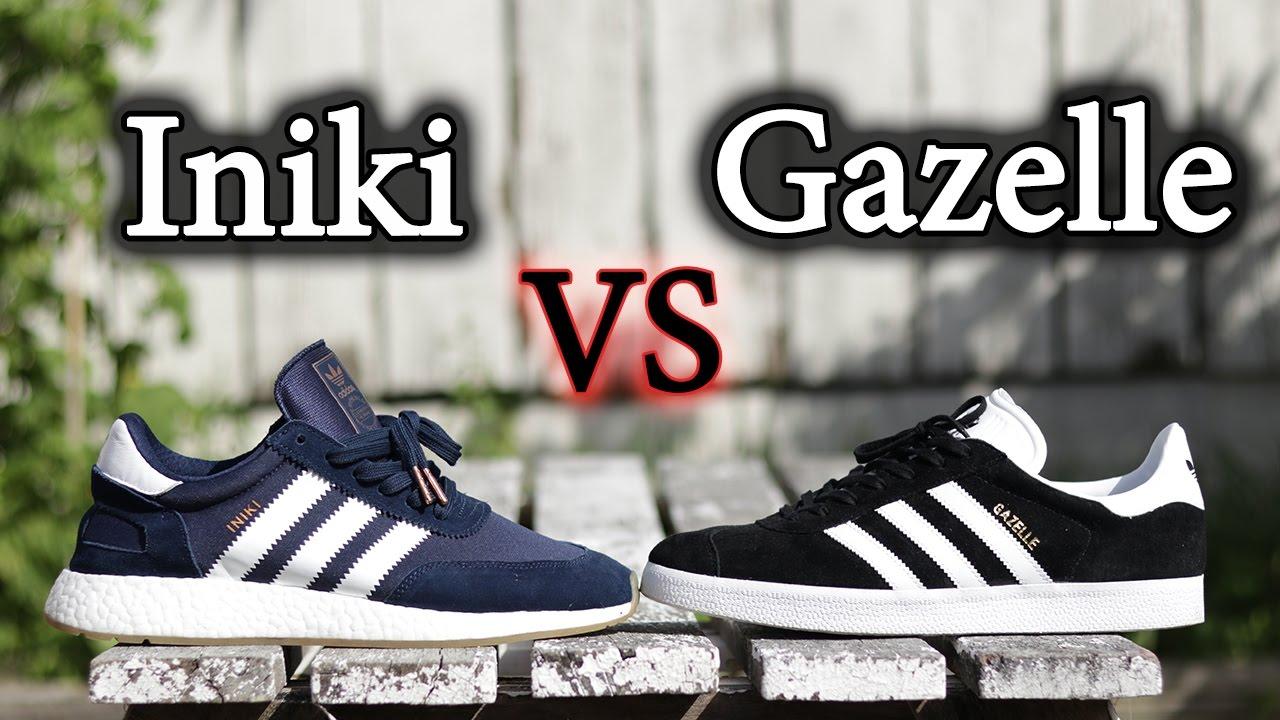 new concept 0ba2c b807f adidas gazelle vs samba