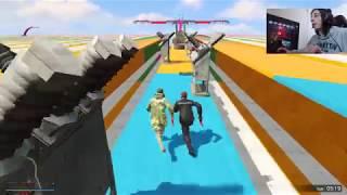 NikaTMG და დათუნა(ძმა) – Runners VS Cars | GTA 5 Online ქარათულად