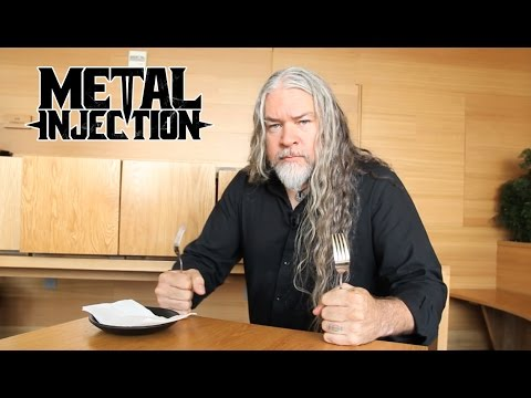 Tomas Haake of MESHUGGAH On His Love For Food | Metal Injection
