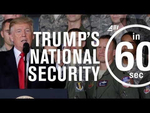 Trump's national security strategy | IN 60 SECONDS