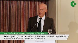 """Joachim Nikolaus Steinhöfel - Kolloqium """"Zensur gefällig?"""""""