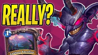 WINNING with Quest Warlock?! | Lakkari Sacrifice | The Boomsday Project | Hearthstone