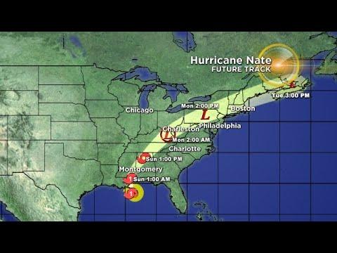 Tracking The Tropics: Hurricane Nate 10/7