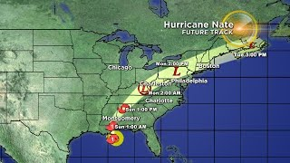 Tracking The Tropics: Hurricane Nate 10/7