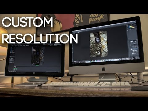 [Windows] How To Set A Custom Screen Resolution.