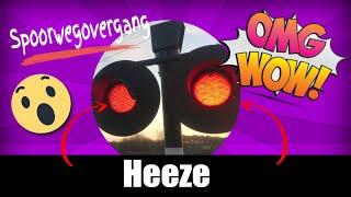 Spoorwegovergang Heeze 😍4K😍 // Dutch railroad crossing