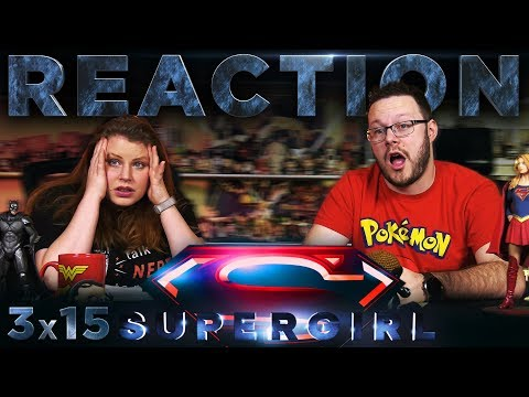 """Supergirl 3x15 REACTION!! """"In Search of Lost Time"""""""