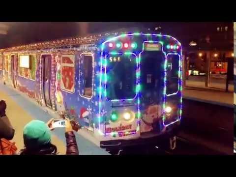 chicago cta holiday train 2016 - Christmas Train Chicago