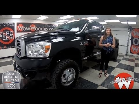 2009 Dodge Ram 3500 Laramie Review | Video Walkaround | Used Cars and Trucks for sale at WowWoodys