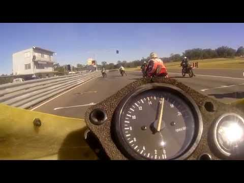 P6 250cc Race 3 - Onboard with Gary - Master of Morgan Park 2015