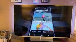 Samsung Galaxy s10 ad leaked before launch