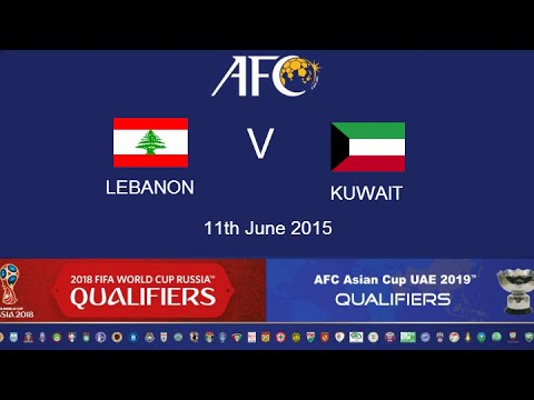 Lebanon v Kuwait: 2018 FIFA WC Russia & AFC Asian Cup UAE 2019 (Qly RD 2)