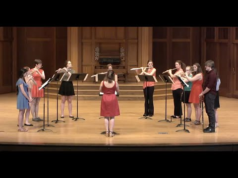 Fractured Focus (Ilan Blanck '17) - Lawrence University Flute Ensemble