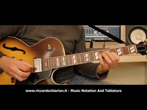 Jazz Guitar Etude #15 - Rhythm Changes in Bb
