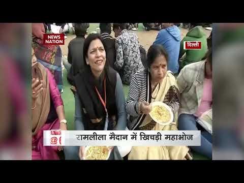 5,000-kg 'khichdi' cooked at Delhi's Ramlila Maidan