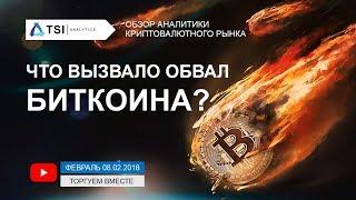 ОБВАЛ БИТКОИНА! Что вызвало падение всех криптовалют? | Прогноз цены на Bitcoin, Криптовалюты