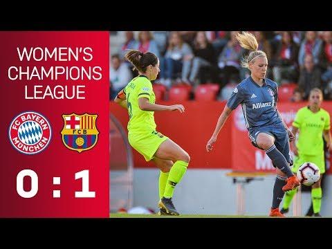 FC Bayern vs. FC Barcelona 0-1 | UEFA Women's Champions League - Semi-Final | ReLive