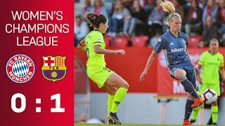FC Bayern vs. FC Barcelona 0-1 | UEFA Women's Champions League - Semi-Final | ReLive