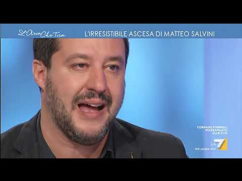Matteo Salvini, intervista completa
