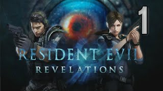 Resident Evil: Revelations walkthrough [01] w/YourGibs - OPENING - Episode 1: Into the Depths (1/2)