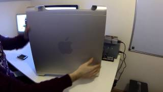 Apple Power Mac G5 - Intel ATX Conversion i7 Hackintosh - Poor Mans Mac Pro