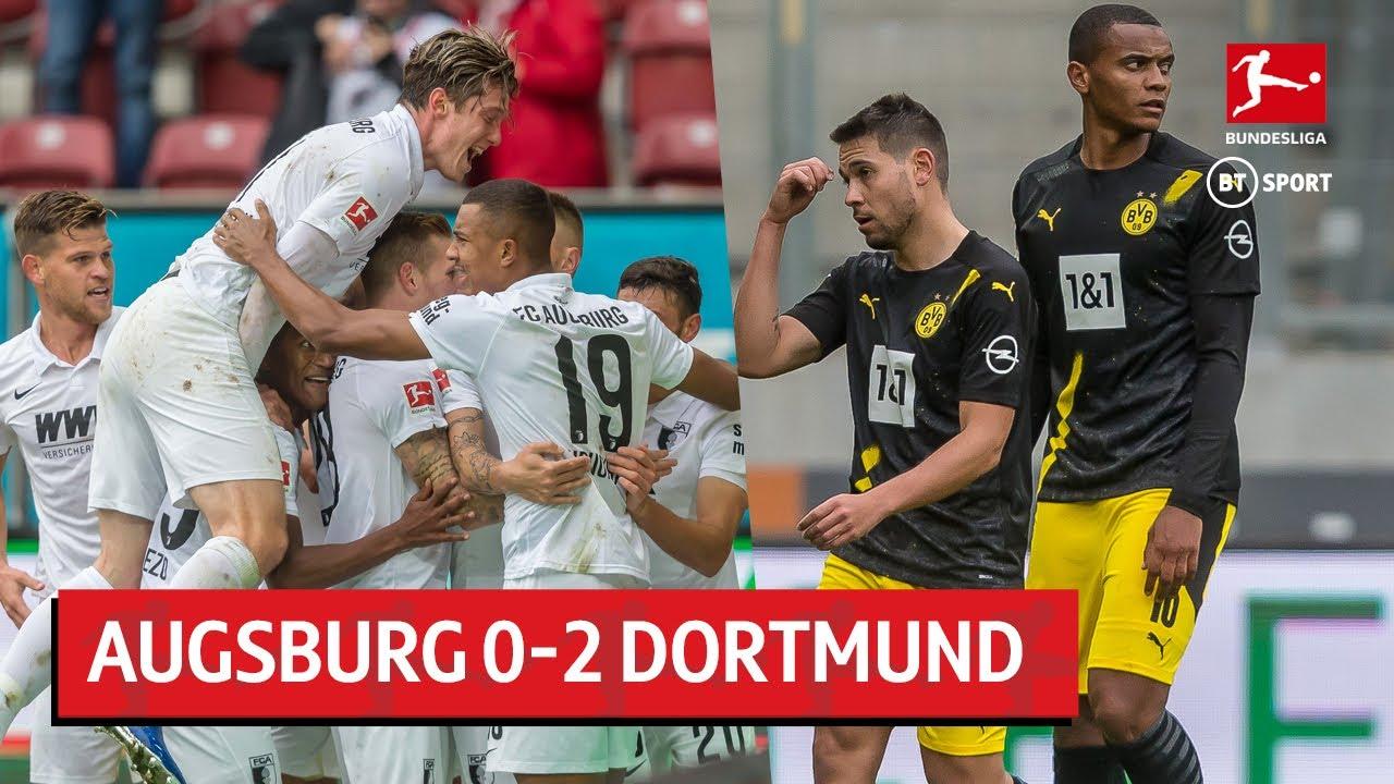 Augsburg vs Borussia Dortmund (2-0) | Bundesliga highlights